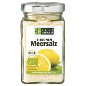 Easy Gourmet Bio Zitronen Meersalz 200g
