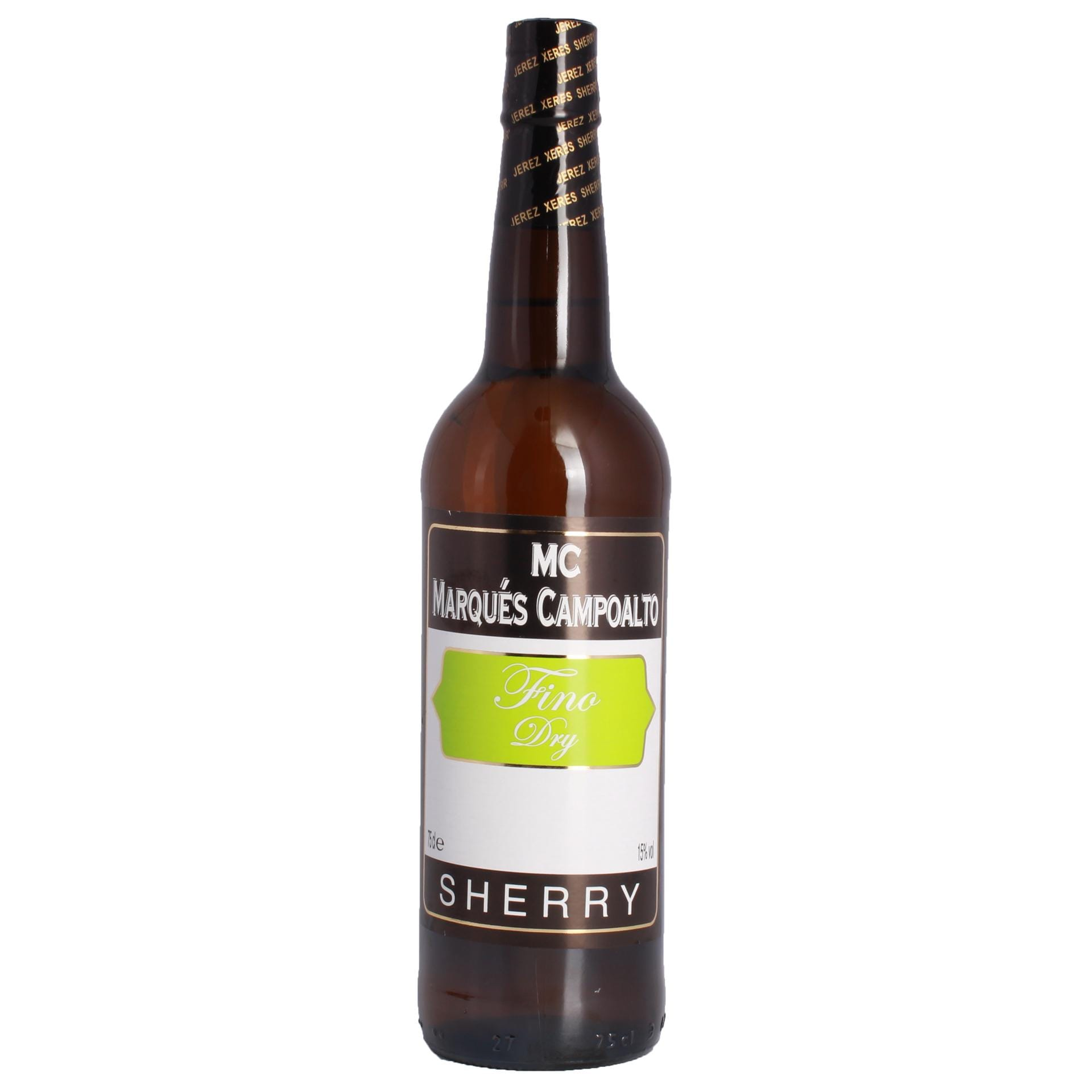 Marqués Campoalto Sherry Fino Dry 15% 0,75l