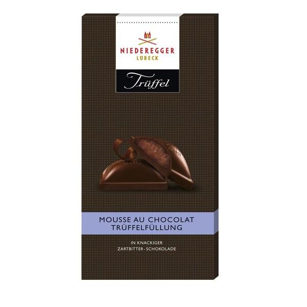Niederegger - Trüffel Mousse au Chocolat - Schokolade - 100g