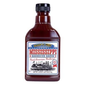 Mississippi - BBQ Sauce Sweet´n Mild - Grillsauce - 440ml