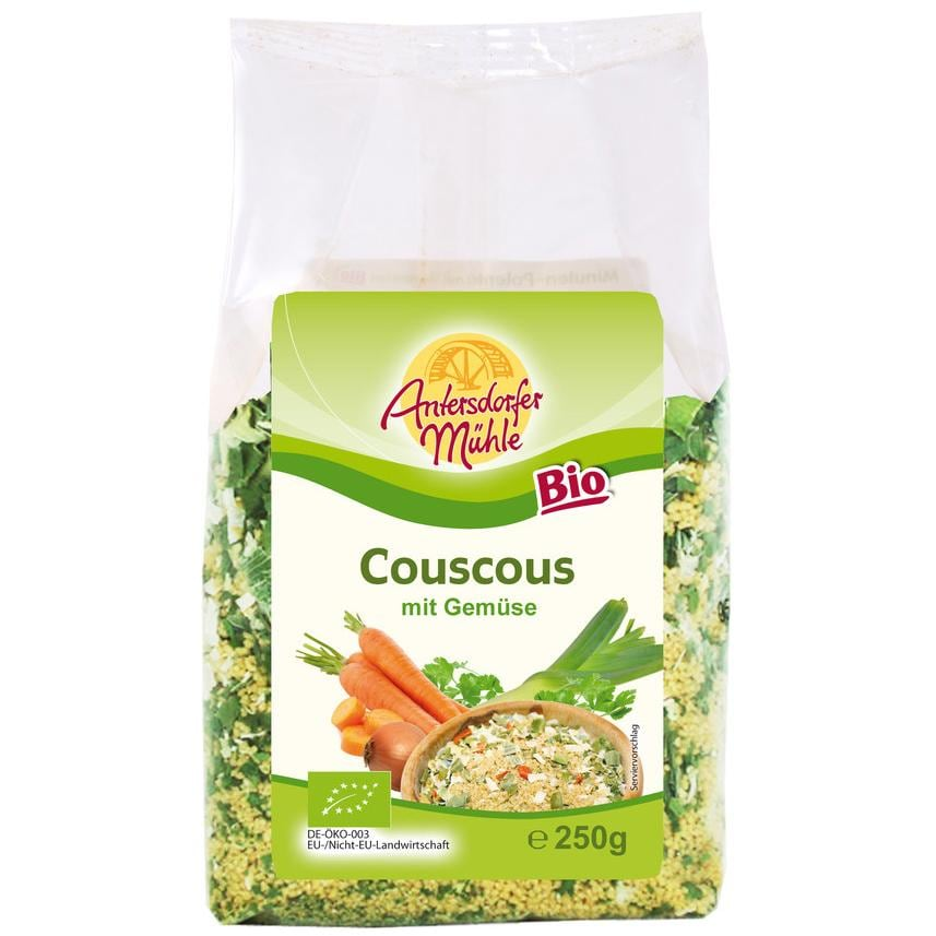Antersdorfer Mühle Bio Couscous mit Gemüse 250g