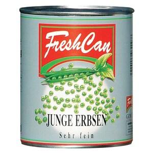 FreshCan junge Erbsen sehr fein Konserve 560g