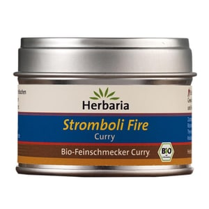Herbaria Stromboli Fire Curry Gewürzmischung Bio 25g