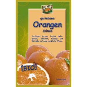 Biovita Naturkost Bio Orangen Schale gerieben 11g