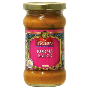 Truly Indian - Korma Sauce - pikante Spezialität - 285g