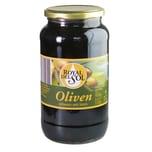 Royal del Sol Oliven schwarz mit Stein 550g/900g