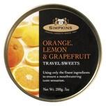 Simpkins - Drops Orange, Lemon & Grapefruit - 200g