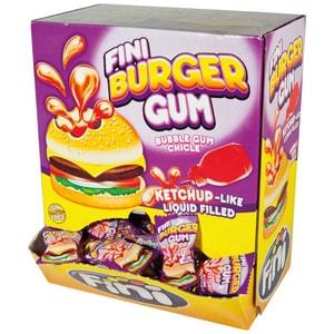 Fini - Burger Gum 200St Kaugummi Süßwaren - 1,19kg