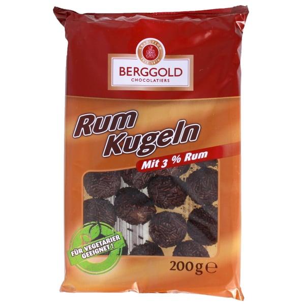 Berggold - Streusel Kugeln Mini Rumkugeln Rum-Kugeln - 200g