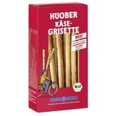 Huober Bio Käse-Grisette Knabbergebäckstangen 100g