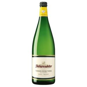 Bickensohler Weisser Burgunder QbA Weißwein trocken 12% 1,0l