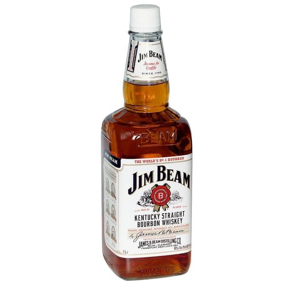 Jim Beam Bourbon Whiskey 1,5l