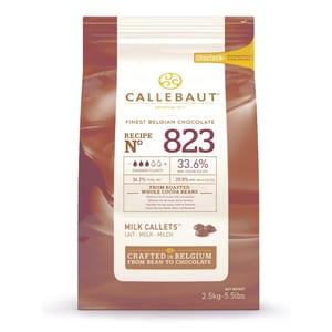 Callebaut Vollmilch Schokolade Callets Kuvertüre 2,5kg