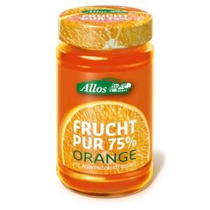 Allos Bio Frucht Pur 75% Orange Fruchtaufstrich 250g
