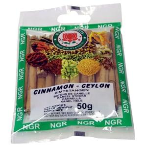 NGR Products - Cinnamon ganze Zimtstangen Zimtgewürz - 50g