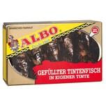 ALBO Tintenfisch gefüllt in Tinte Fischkonserve 72g/115g