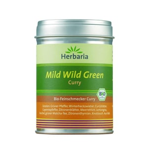 Herbaria Bio Mild Wild Green Curry 70g