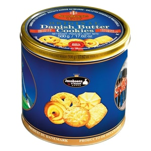 Jacobsens - Danish Buttercookies Kekse Gebäck Dose - 500g