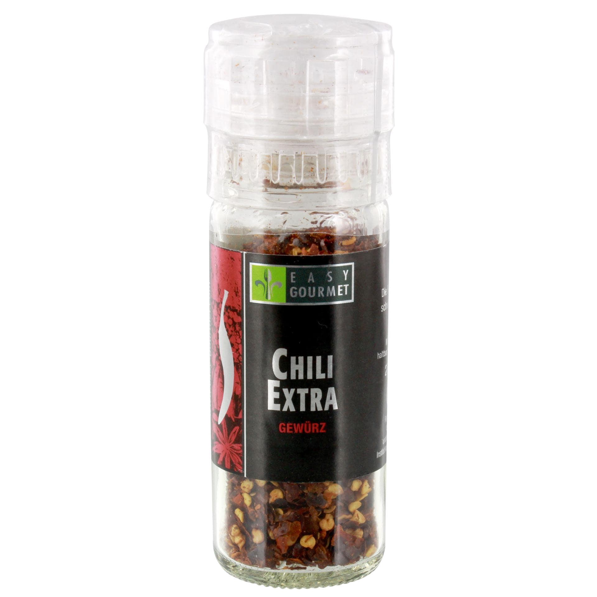 Easy Gourmet - Chili extra scharf Mühle Gewürz - 25g