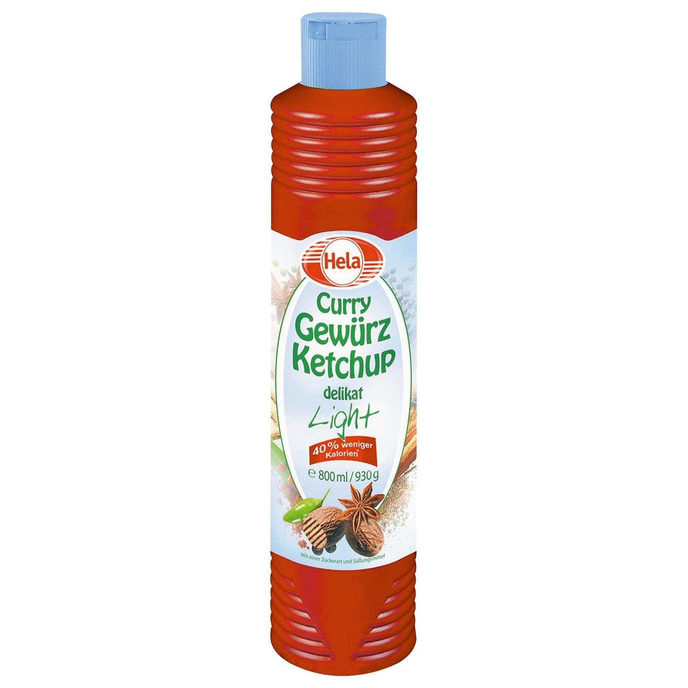 Hela - Curry Gewürzketchup light - 0,8l