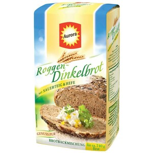 Aurora Roggen-Dinkelbrot Brotbackmischung 500g