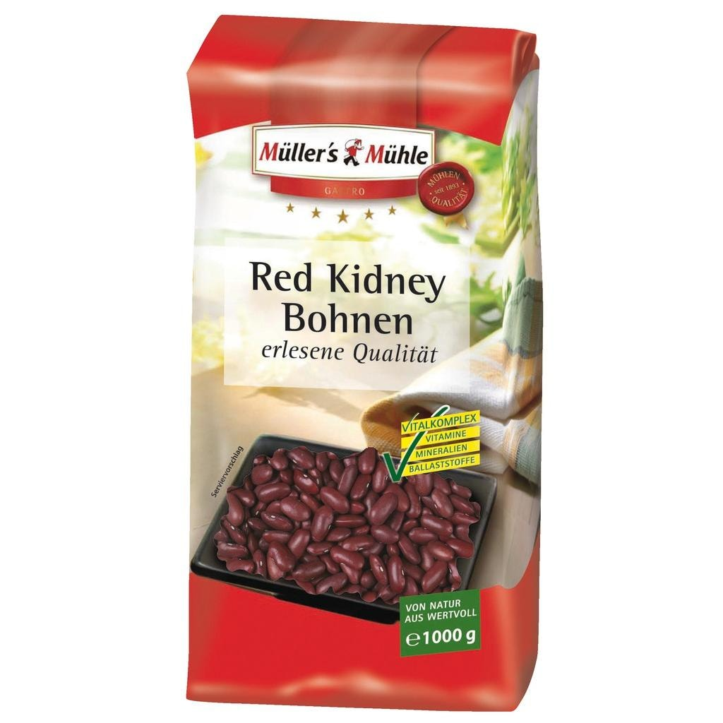 Müller's Mühle - Red Kidney Bohnen - 1000g
