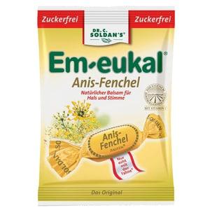Dr. Soldan Em-eukal Anis-Fenchel Bonbons Zuckerfrei 75g