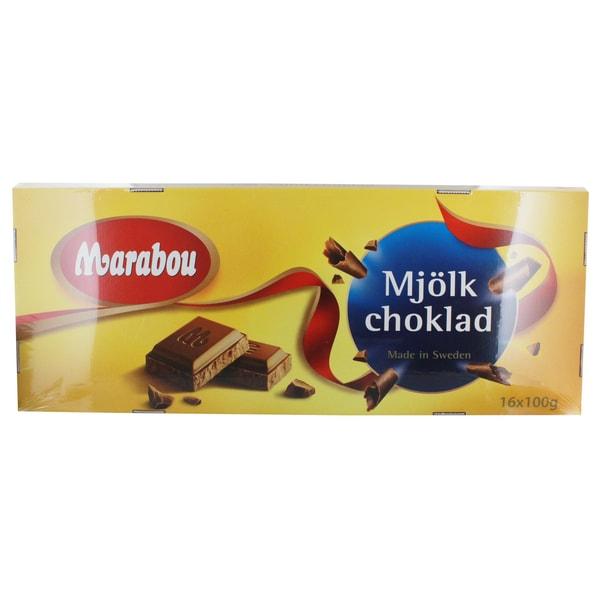 Marabou XL Milchschokolade Tafeln 1,6 Kg