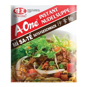 A-One - Instantnudelsuppe Satay - 85g
