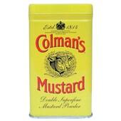 Colman's Senfpulver gelbe Metalldose seit 1814 100g