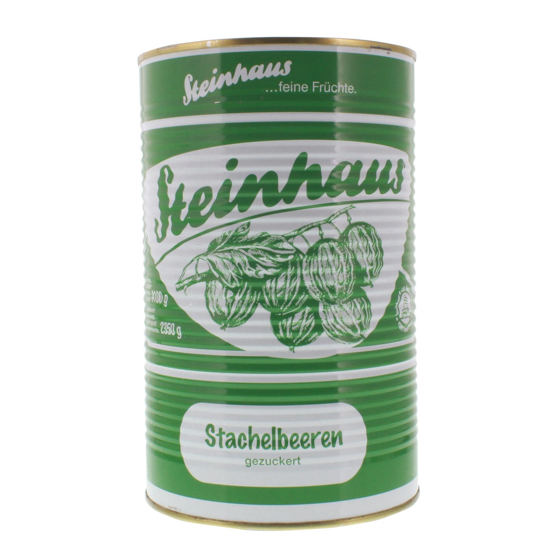 Steinhaus Stachelbeeren gezuckert 2,35kg
