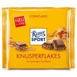 Ritter Sport - Knusperflakes Schokolade Tafel - 250g