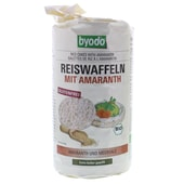Byodo Bio Reiswaffeln Amaranth 100g