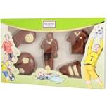 Heilemann - Schokoladenfiguren Fußball Confiserie Präsent Vollmilchschokolade - 100g