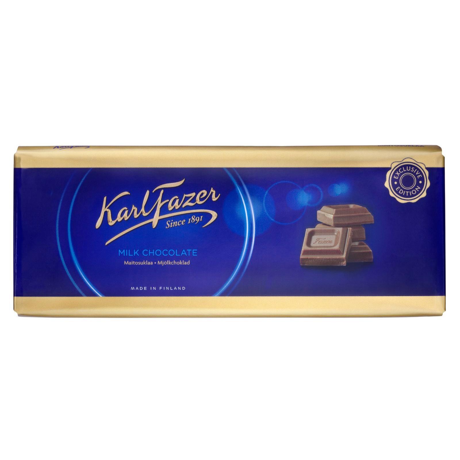 Fazer - Milchschokolade Tafel Vollmilch Alpenmilch - 250g