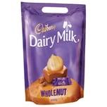 Cadbury - Dairy Milk Whole Nut Mini-Schokoriegel mit ganzen Nüssen - 41St/400g