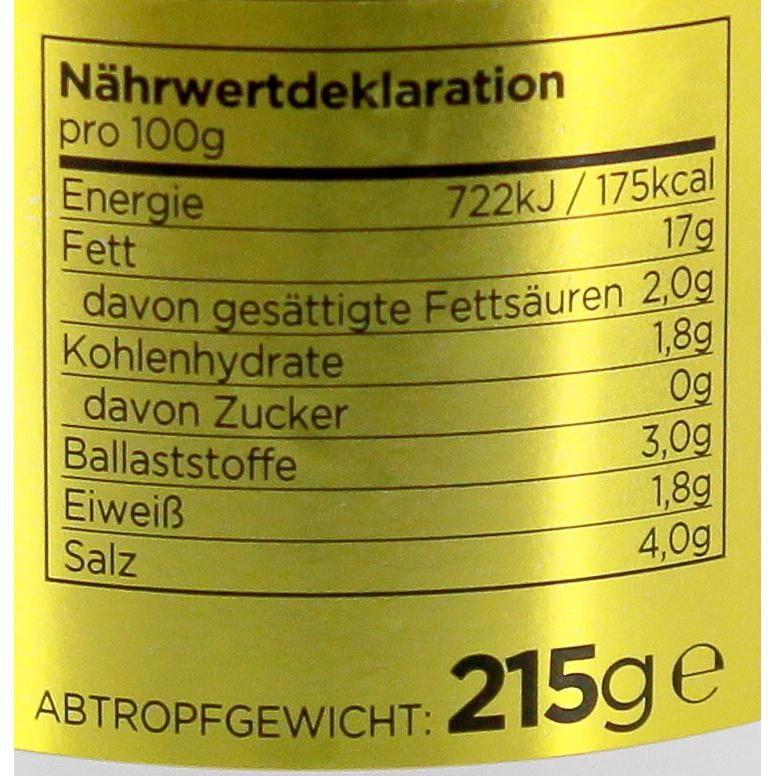 Iliada - Grüne Oliven gefüllt mit Paprika entsteint - 215g/370g