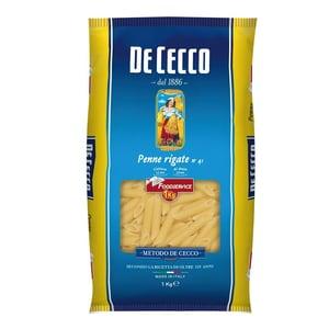 De Cecco - Penne Rigate Nr.41 Pasta - 1kg