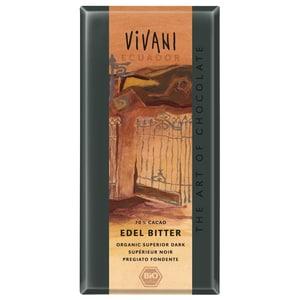Vivani Bio Ecuador 70% Kakao Edel Bitter Schokolade 100g