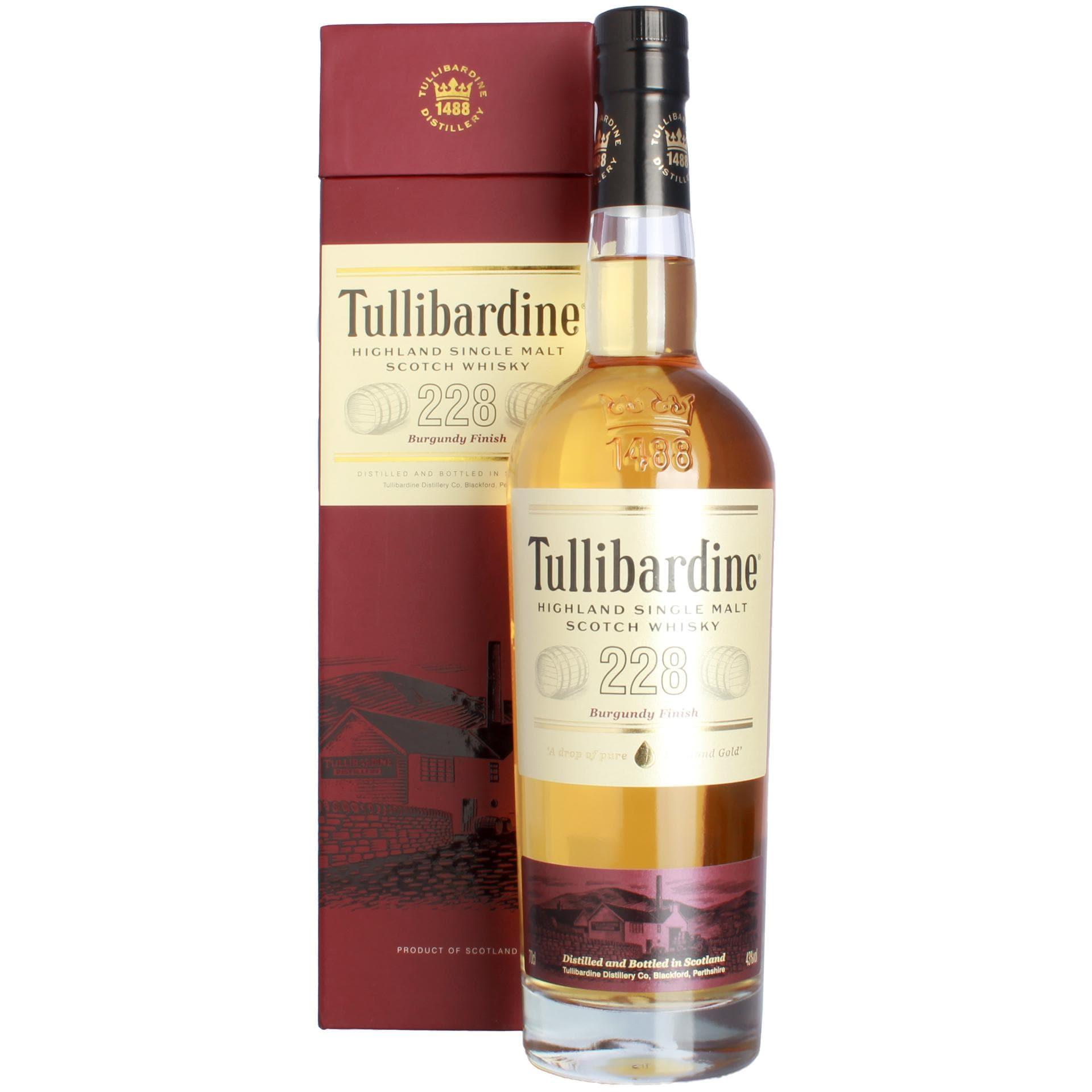 Tullibardine 228 Burgundy Finish Scotch Whisky 0,7l
