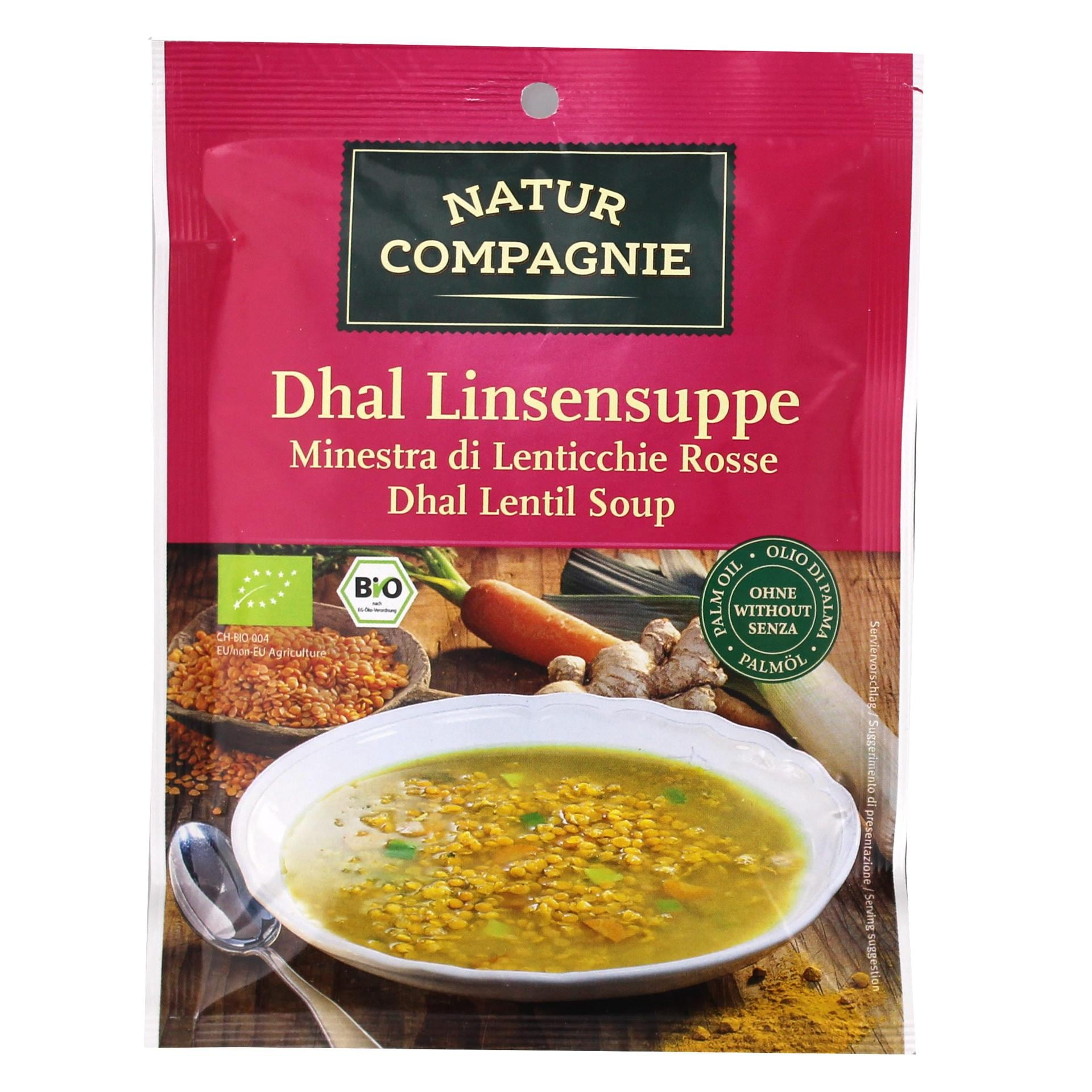 Natur Compagnie Bio Dhal Linsensuppe 60g
