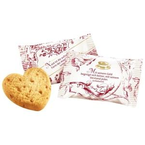 Coppenrath Tassen-Portionen Cookie-Herzen Caramel 200St/1Pkg