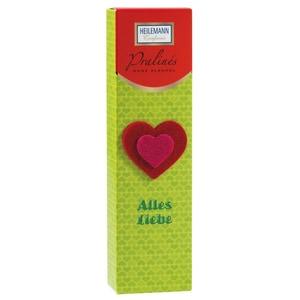 """Heilemann - Pralines ohne Alkohol """"Alles Liebe"""" - 52g"""