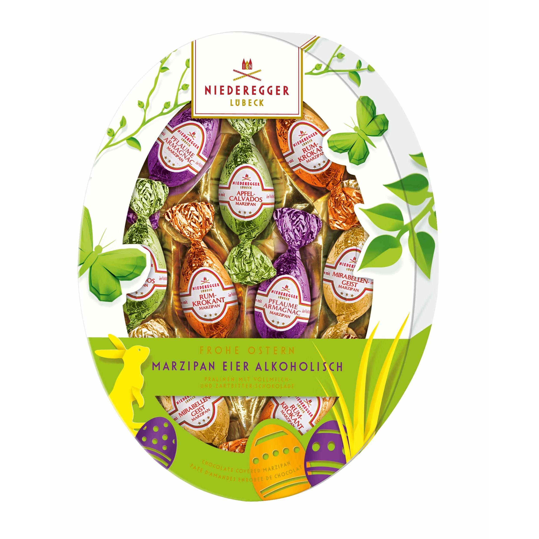 Niederegger Marzipan-Eier Alkoholisch Pralinen 150g