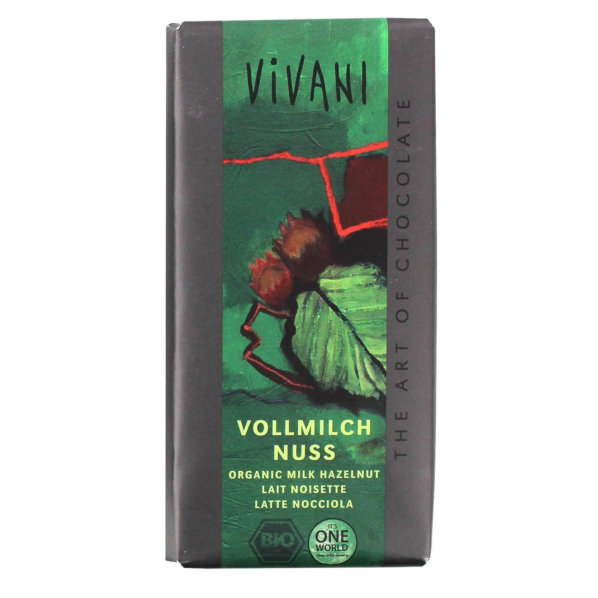 Vivani Bio Vollmilch-Nuss Schokolade 100g