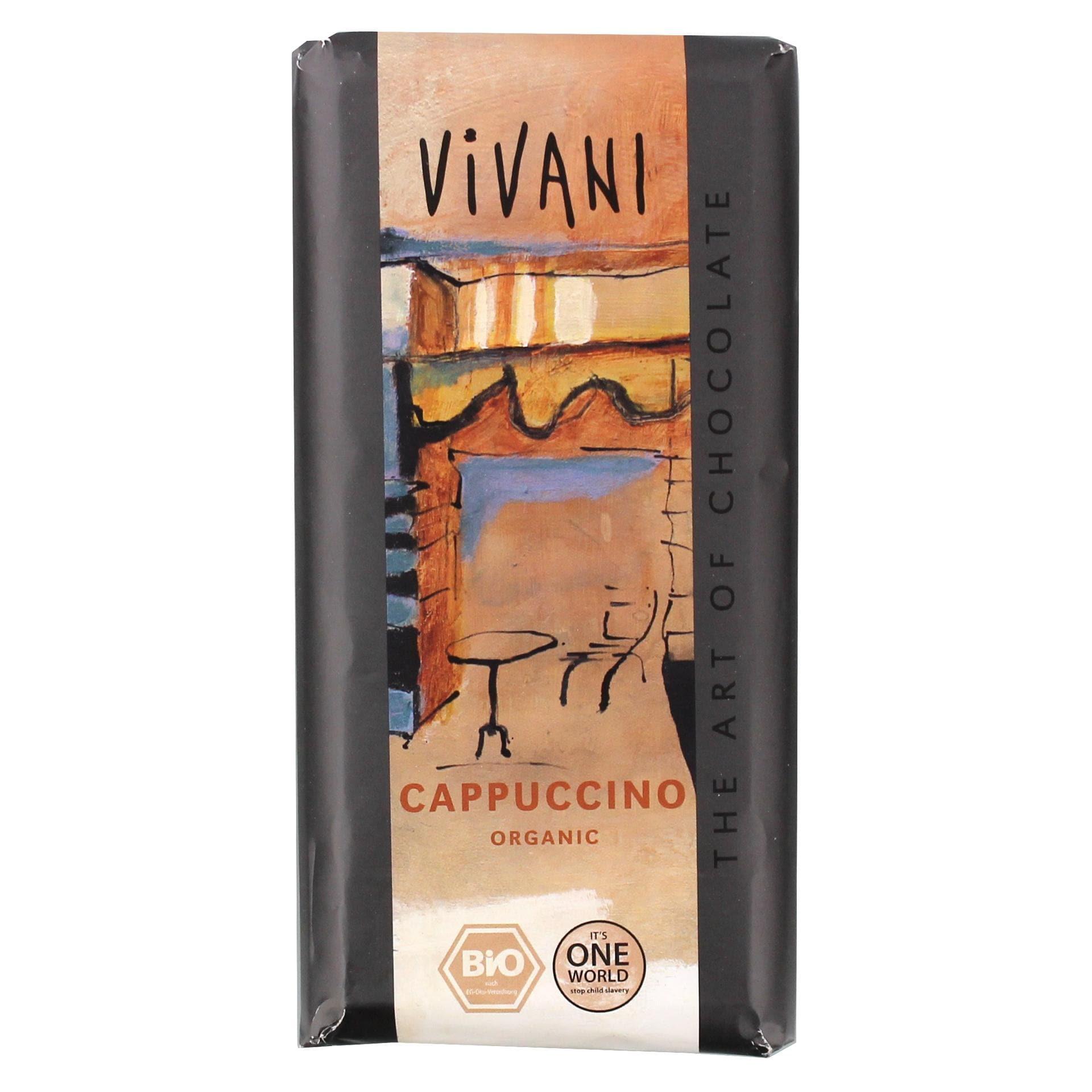 Vivani Bio Cappuccino Schokolade 100g
