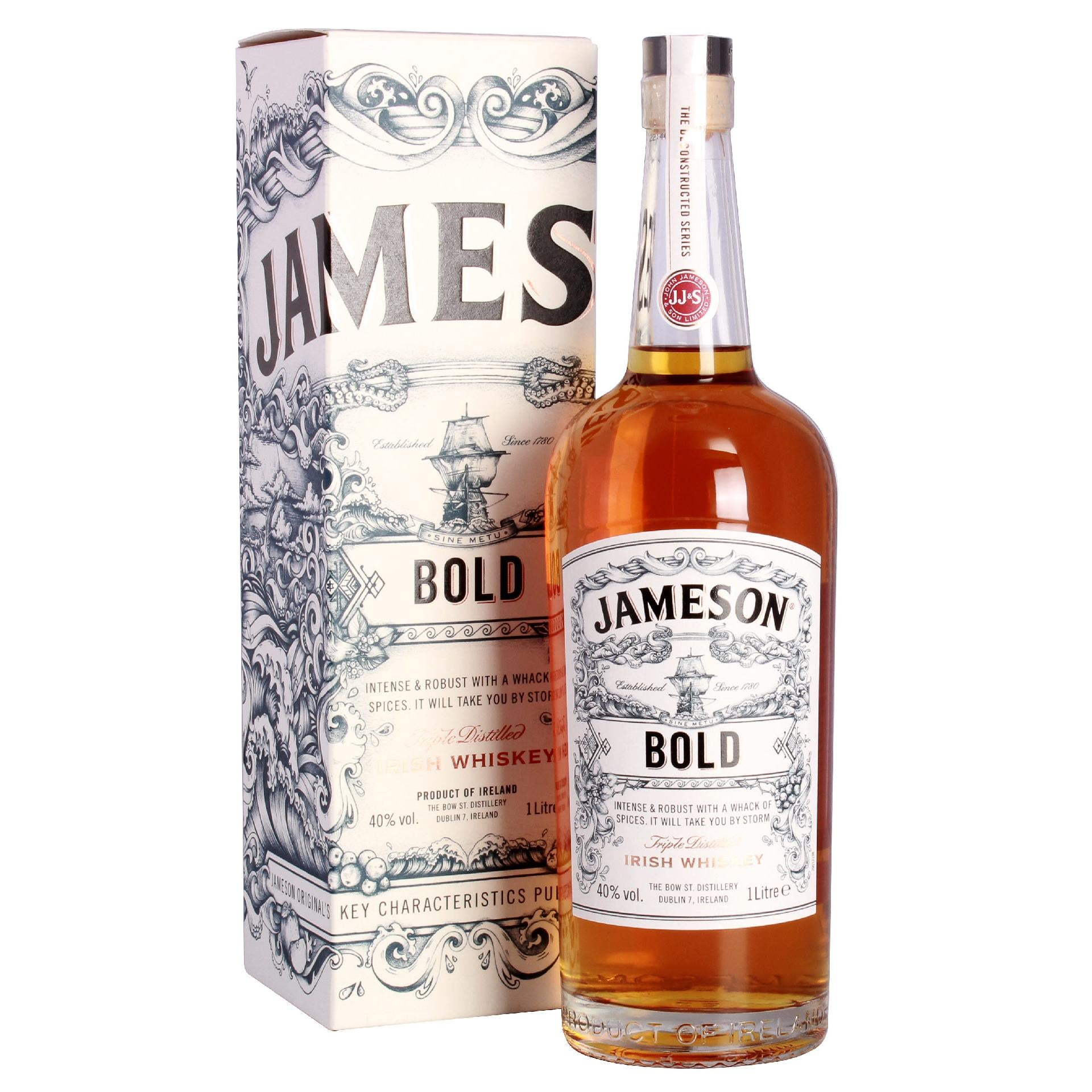 Jameson Bold Triple Distilled Irish Whiskey 1l