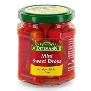 Feinkost Dittmann Mini Sweet Drops Pfefferonen 120g/210g