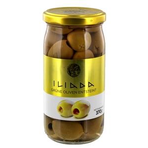 Iliada Grüne Oliven entsteint 370g/190g