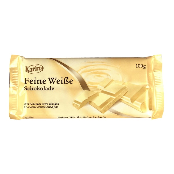 Karina - Feine Weiße Schokolade - 100g